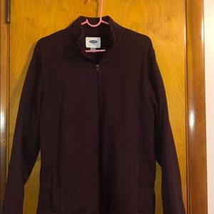 Old Navy Fleece Jacket Worn Once Large